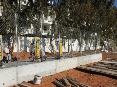 Αναβάθμιση ασφάλειας αθλουμένων στο γήπεδο ποδοσφαίρου Γέρακα
