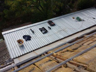Αντικατάσταση στέγης και ενίσχυση υφιστάμενου κτιρίου Ξυλουργείου στον Ναύσταθμο Σαλαμίνας