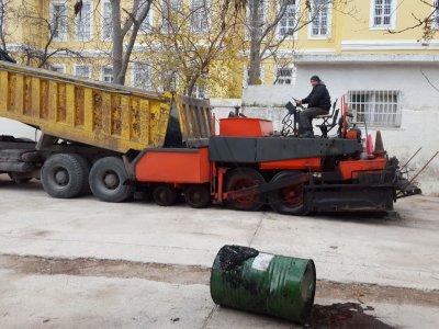 Αποκατάσταση οδοστρώματος στο Ψυχιατρικό Νοσοκομείο Αττικής Δρομοκαΐτειο