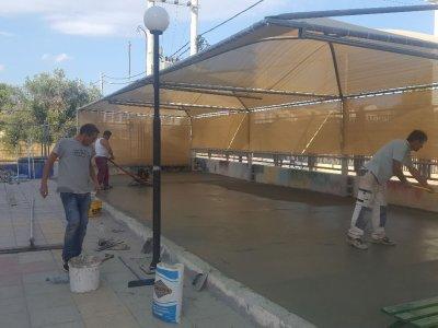 Εργασίες διαμόρφωσης εξωτερικού χώρου Καλλιτεχνικού Σχολείου Δήμου Γέρακα