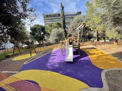 Κατασκευή παιδικών χαρών στον Δήμο Καισαριανής
