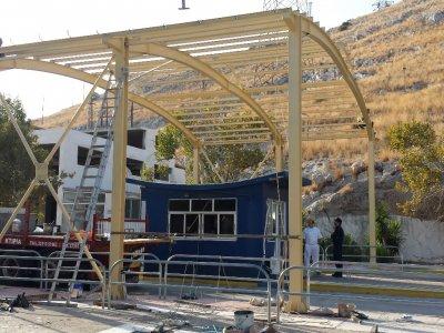 Κατασκευή Νέου Μεταλλικού Στεγάστρου Φυλακίου Φ4 του Ναυστάθμου Σαλαμίνας