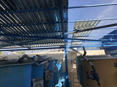Κατασκευή νέου στεγάστρου στις εγκαταστάσεις του Κέντρου Θαλασσίων Ερευνών