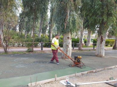 Κατασκευή περιπατητικών διαδρόμων στο Άλσος Περιστερίου