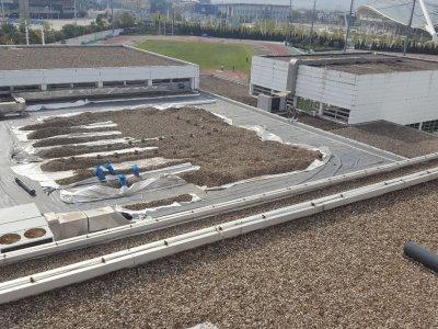 Στεγανοποίηση οροφής του κλειστού προπονητηρίου του ΟΑΚΑ