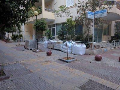 Συντήρηση-Επισκευή πλατειών, πεζοδρόμων και λοιπών κοινοχρήστων χώρων στον Δήμο Αθηναίων