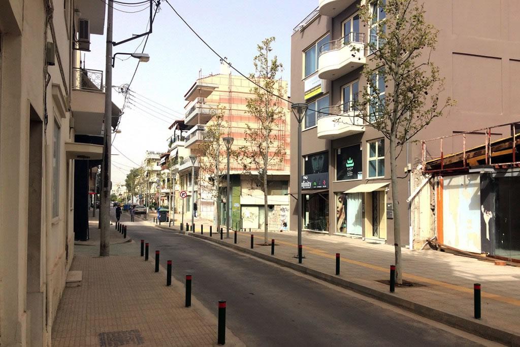 Πλακοστρώσεις σε κοινοχρήστους χώρους του Δήμου Περιστερίου
